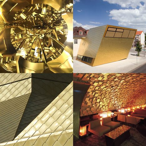 Dezeen archive: gold