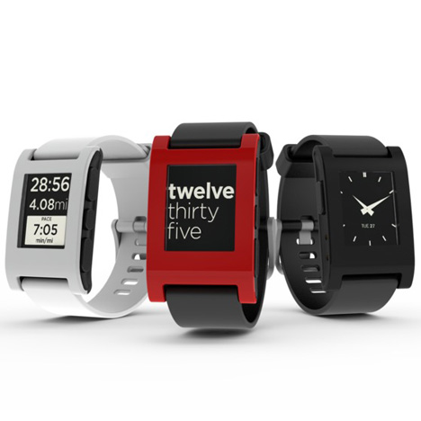Pebble E-Paper Watch by Pebble Technology