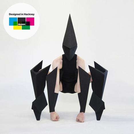 Designed in Hackney: Costume designs for Carbon Life by Gareth Pugh