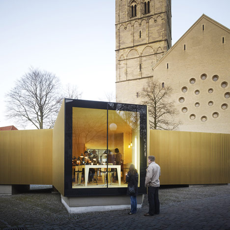 Golden Workshop by modulorbeat and Münster School of Architecture students