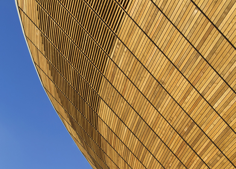 Velodrome by Hopkins Architects
