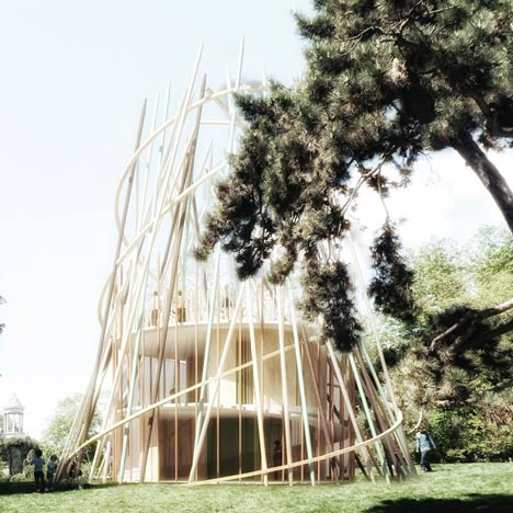 Sticks by Djuric Tardio Architectes