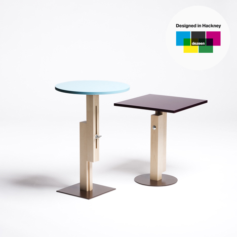 Designed in Hackney: Tom Tom & Tam Tam by Konstantin Grcic for SCP