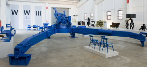 WW III by Atelier Van Lieshout for Lensvelt