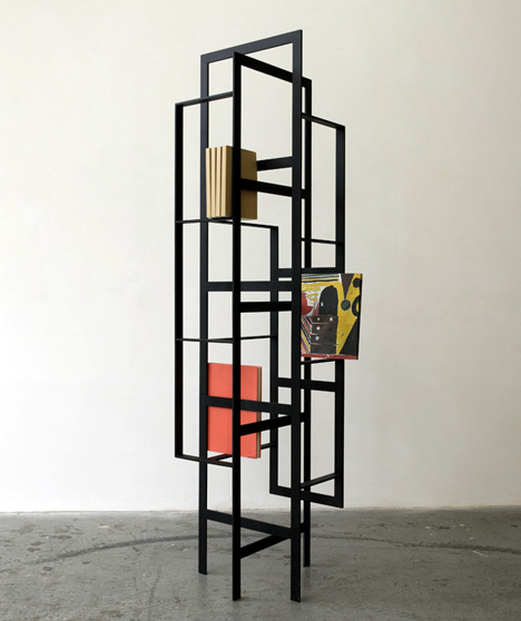 Weave Bookcase by Chicako Ibaraki for Casamania