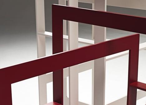 Weave Bookcase by Chicako Ibaraki for Casamania