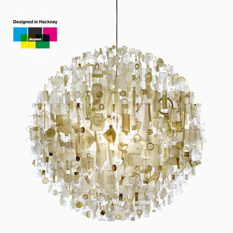 Designed in Hackney: chandeliers by Stuart Haygarth