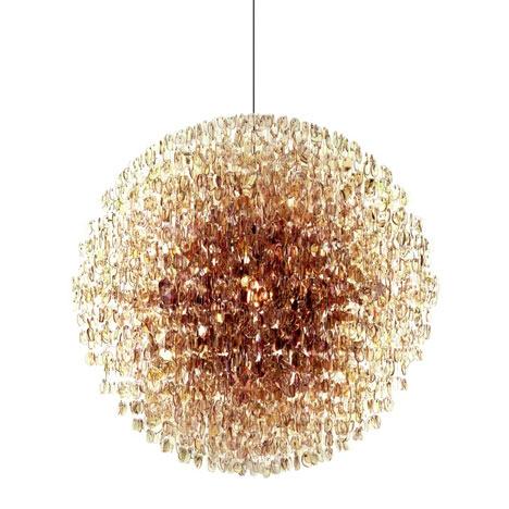 chandeliers by Stuart Haygarth