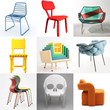 New Pinterest board: chairs | Dezeen