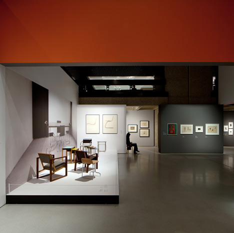 Bauhaus art as life by Carmody Groarke and A Practice For Everyday Life