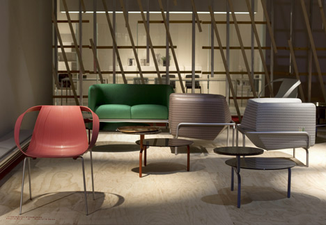 Chandigarh by Doshi Levien for Moroso