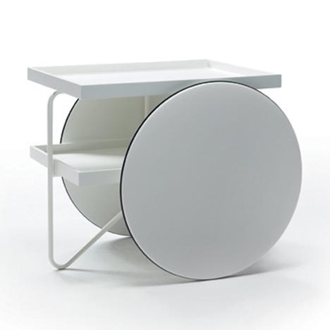 chariot by gamfratesi for casamania dezeen. Black Bedroom Furniture Sets. Home Design Ideas