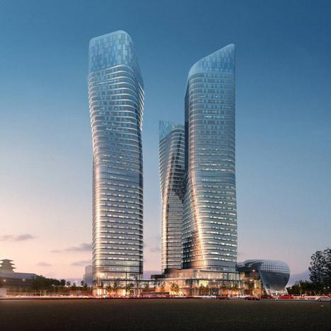Dancing Towers by Studio Daniel Libeskind