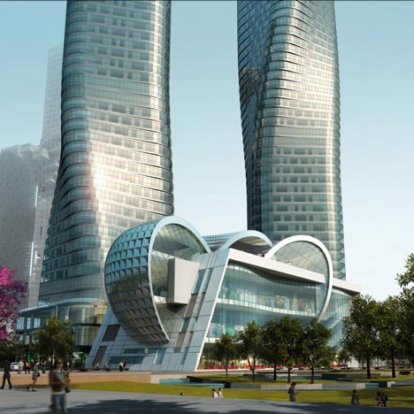 Dancing Towers by Studio Daniel Libeskind