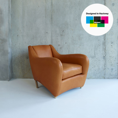 Designed in Hackney: Balzac armchair by Matthew Hilton for SCP