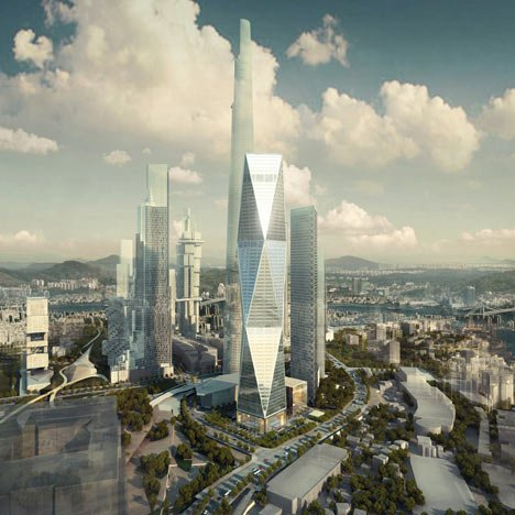 Diagonal Tower by SOM