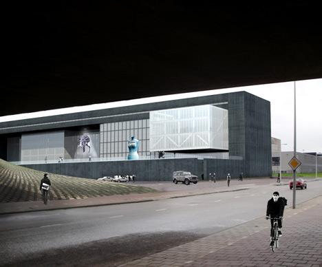 G-Star RAW Headquarters by OMA