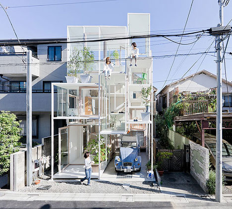 Building of the day 2012 for O house sou fujimoto