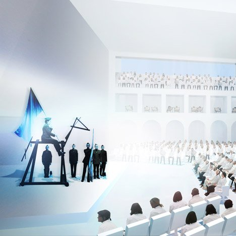 Marina Abramovic Institute by OMA