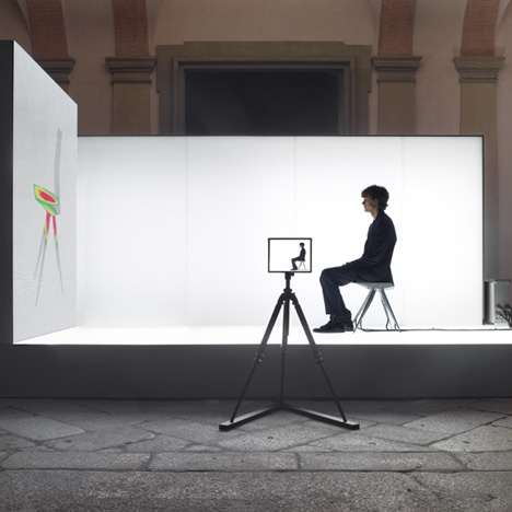 R18 Ultra Chair Public Beta by Clemens Weisshaar and Reed Kram for Audi