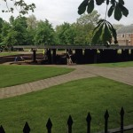 Serpentine Gallery Pavilion by Herzog & de Meuron and Ai Wei Wei - preparations