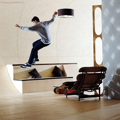 Skateboard House