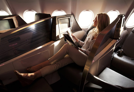 Upper Class Suite by Simon Pengelly for Virgin Atlantic