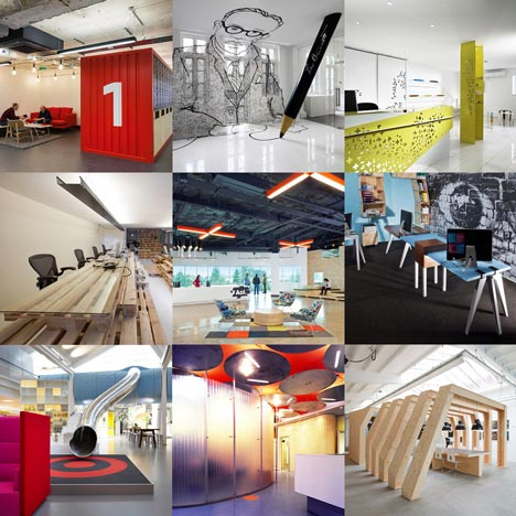 new pinterest board offices