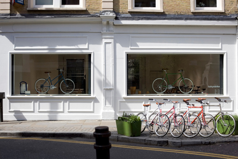 New tokyobike store on Tabernacle Street