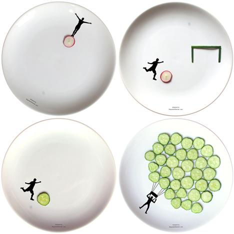Sport plates by Boguslaw Sliwinski