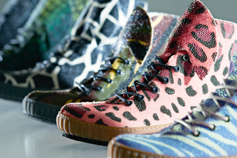 Rayfish bio-customised sneakers