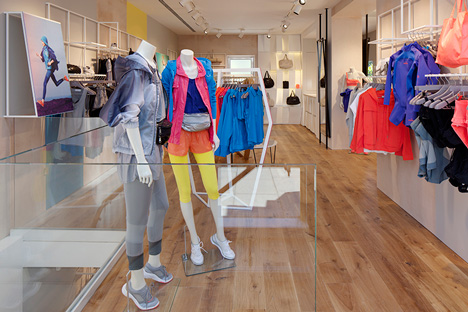 adidas by Stella McCartney store by APA