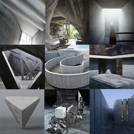 New Pinterest board: concrete