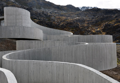 Havoysund Tourist Route by Reiulf Ramstad Architects