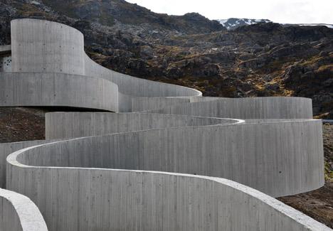 Havoysund Tourist Route by Reiulf Ramstad Architects