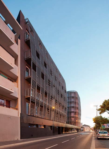 Housing in Sete by Colboc Franzen and Associes
