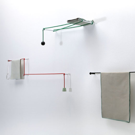 Towel Hanger by Hiroomi Tahara