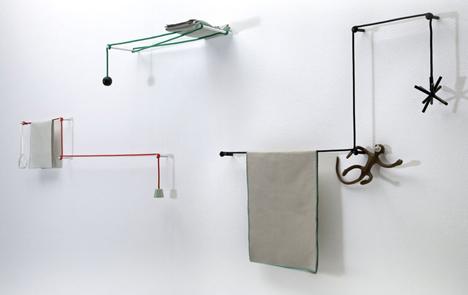 Towel Hanger by Hioomi Tahara