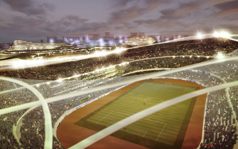 Addis Ababa Stadium and Sports Village by LAVA
