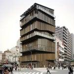 Asakusa Culture Tourist Information Center by Kengo Kuma and Associates