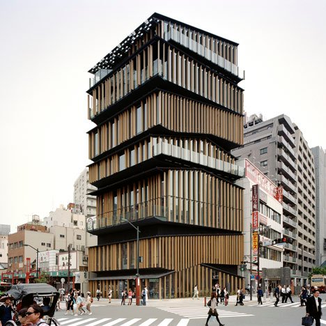 Asakusa Culture Tourist Information Center by Kengo Kuma and Associates