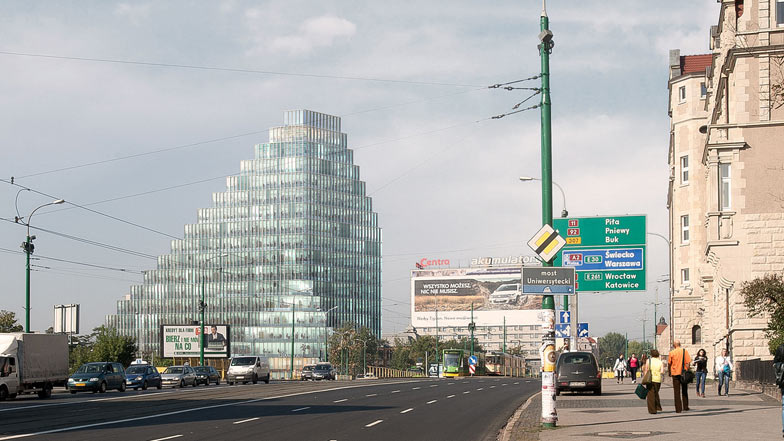 Baltyk Tower by MVRDV