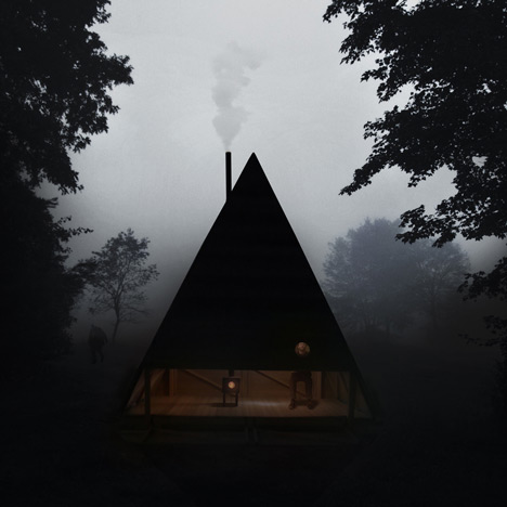 dezeen_Black Lodge by Jagnefalt Milton_1