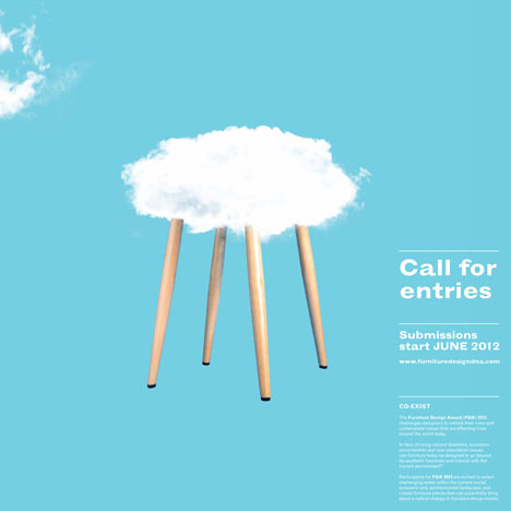 Furniture Design Award call for entries to the furniture design award and furniture