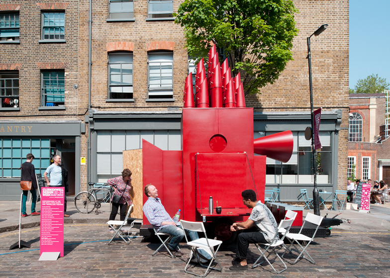 Tiny Travelling Theatre by Aberrant Architecture