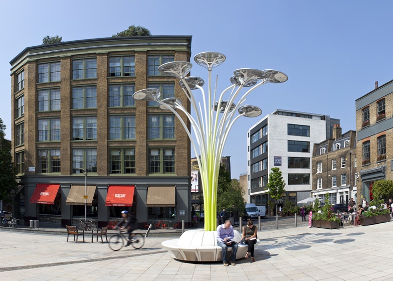Solar Tree by Ross Lovegrove for Artemide