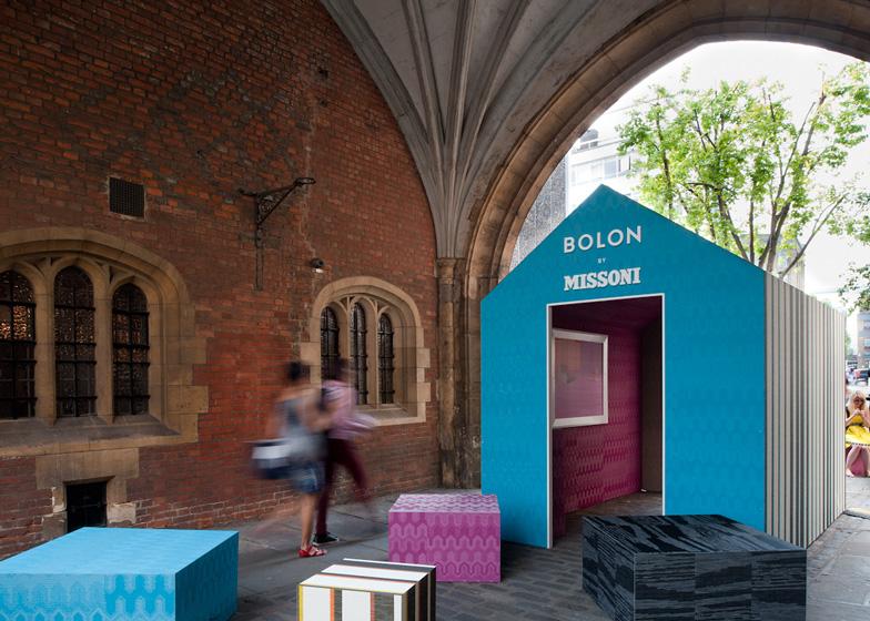 Bolon by Missoni house installation