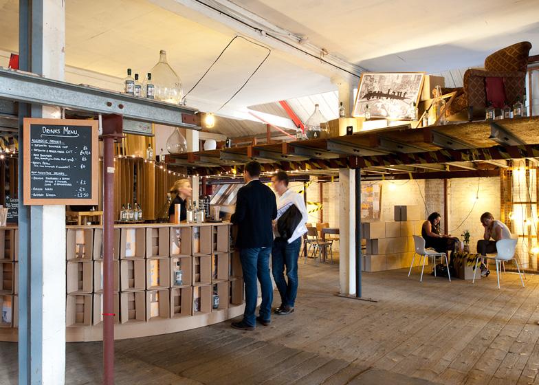 Gen Lane bar at the Farmiloe Building