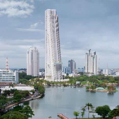 Colombo Residential Development by Moshe Safdie
