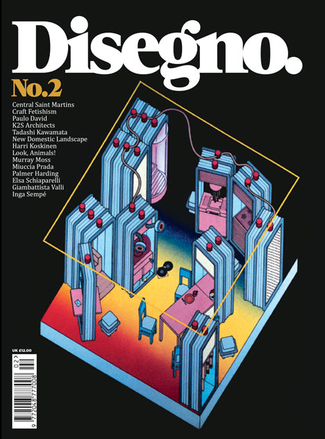 Competition: five subscriptions to Disegno magazine to give away